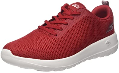 new product d750c 6a8e5 Skechers Men Go Walk Max-Effort Trainers, Red (Red), 6.5 UK