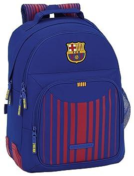 74d7133b11ef9 Safta Mochila Escolar F.C. Barcelona 17 18 Oficial 320x150x420mm   Amazon.es  Equipaje