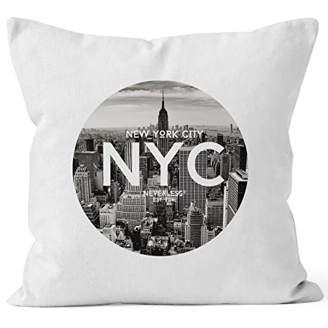 Almohada Funda De Cojín de 40 x 40 NYC New York City ...