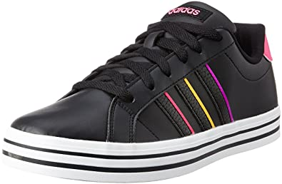 b65a24ffed16 ... cheap adidas neo womens weekly w cblack and shopin leather sneakers 8  uk india 7a0fa 1e570