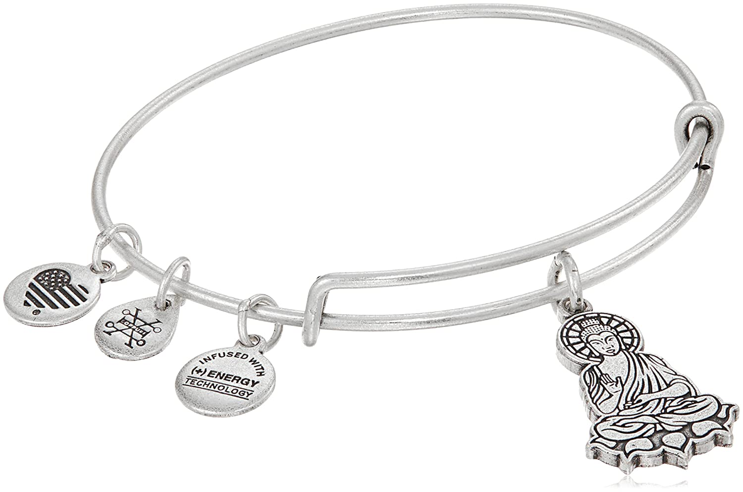 Alex Ani Buddha Bangle Bracelet Image 1