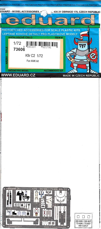 Eduard Accessories 73606/Model-Making Accessory Kfir C2/for AMK