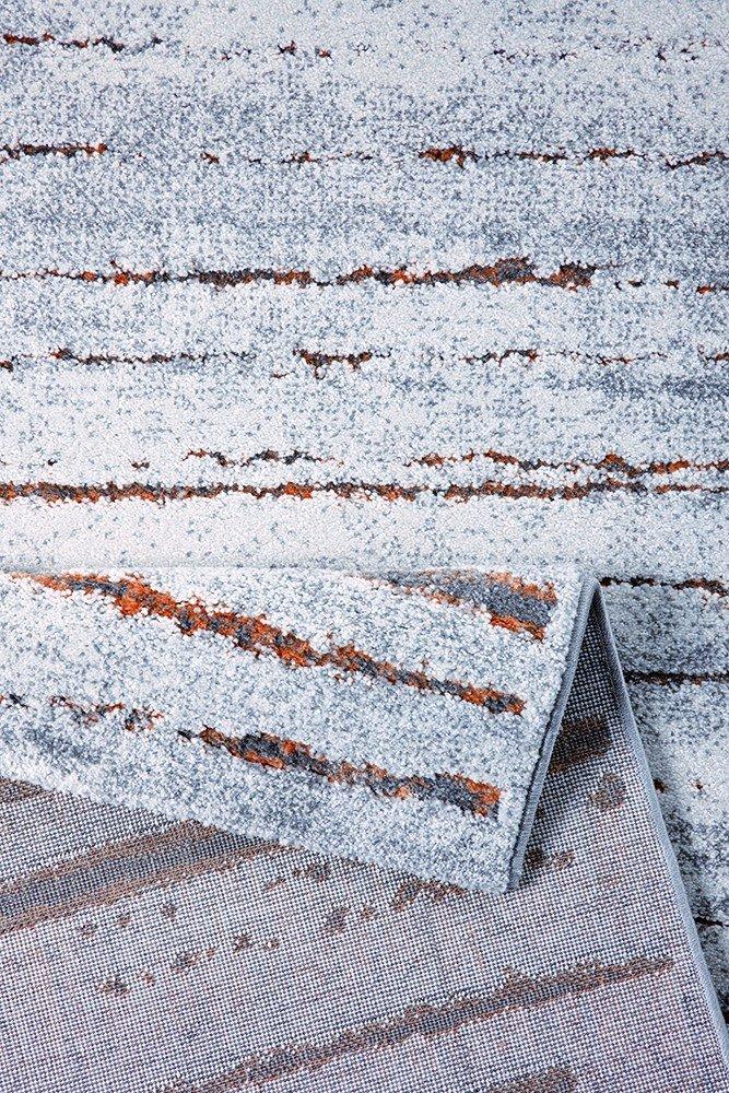 WECONhome Teppich Generation Y - Woodland - braun/rot, Größe:160x225