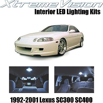 Pure White Premium.. XtremeVision LED for Lexus SC300 SC400 1992-2001 5 Pieces