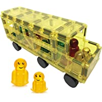 Award Winning Shape Mags 38 Piece School Bus with Figures Include