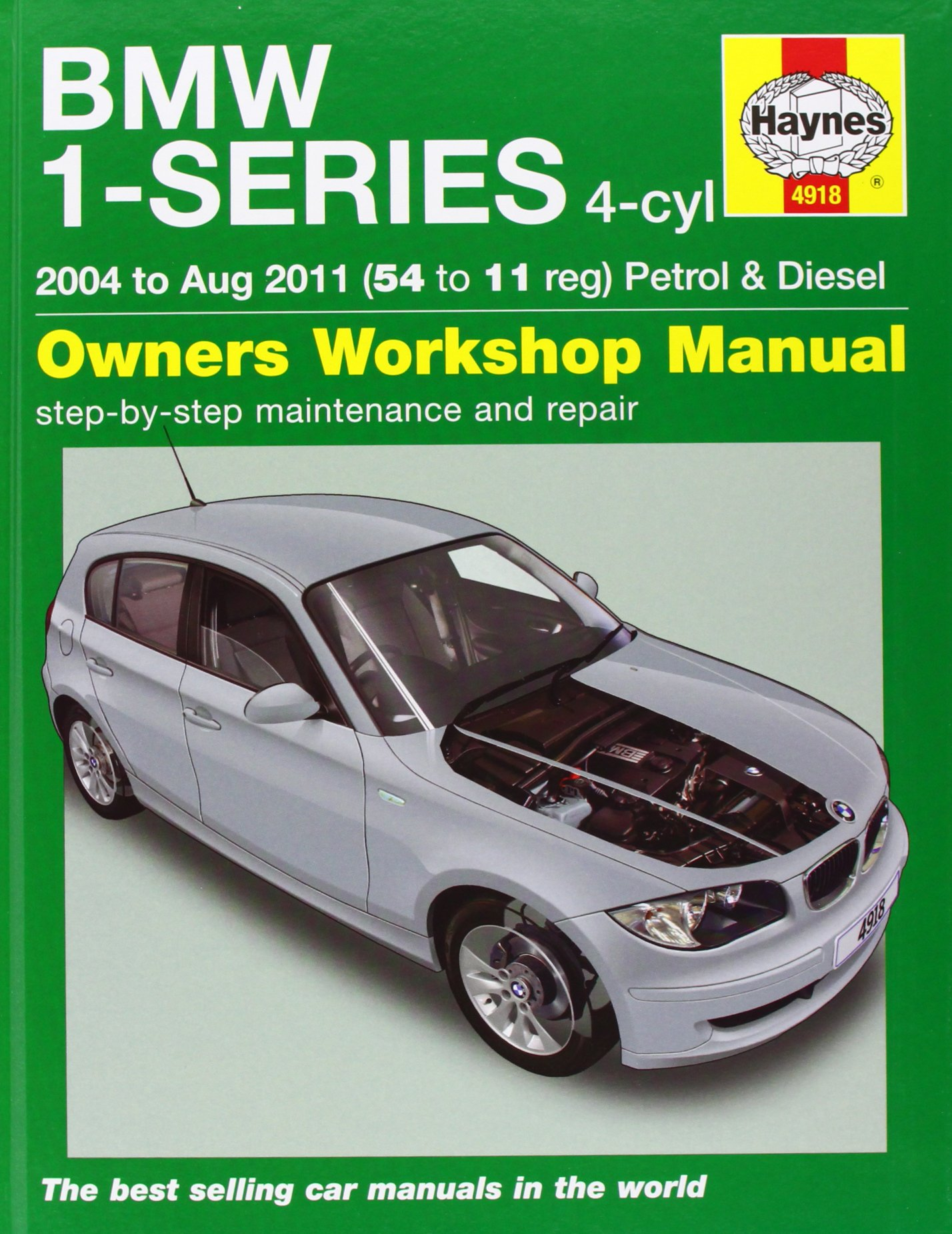 Bmw 1 series 4 cyl petrol diesel service repair manual 2004 to 2011 haynes service and repair manuals amazon co uk martynn randall 9781844259182