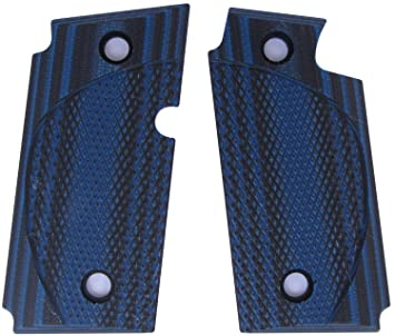 Amazon.com: Lok Grips Checkered CC Sig P238 Grips: Sports ...