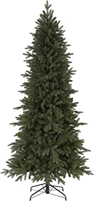 Tree Classics Kennedy Fir Narrow Artificial Christmas Tree, 9 Feet, Unlit