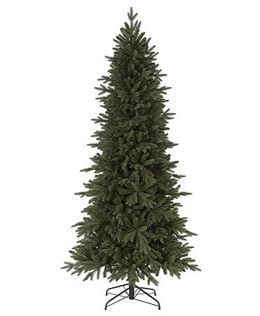 Tree Cl Ics Kennedy Fir Narrow Artificial Christmas Tree 9 Feet Unlit