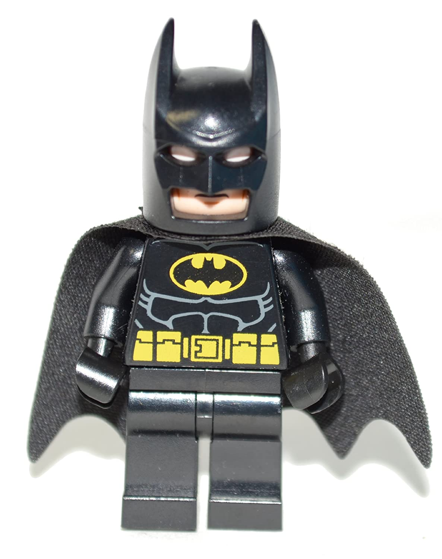 LEGO Super Heroes: Batman Con Negro Traje Minifigura: Amazon ...
