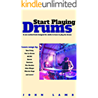 Start Playing Drums: A New Method Book Designed for Adults book cover