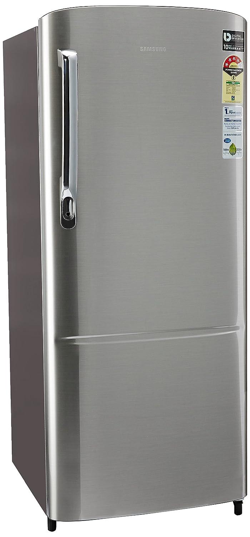 Samsung 212 l 4 star direct cool single door refrigerator samsung 212 l 4 star direct cool single door refrigerator rr22m272ys8 elegant inox amazon home kitchen fandeluxe Choice Image
