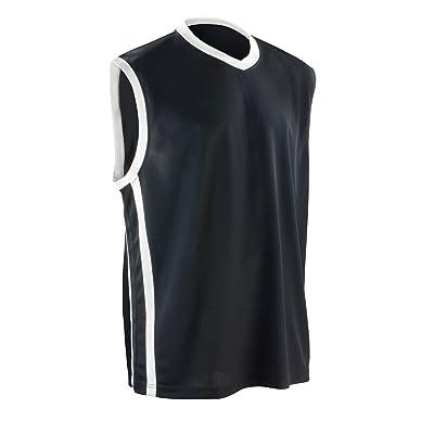 (スピロ) Spiro メンズ 速乾 スポーツタンクトップ バスケットボール トレーニングベスト ノースリーブ トップス 男性用