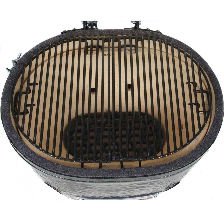 Amazon.com: Primo 778 Extra Large Oval Ceramic Charcoal Smoker Grill:  Patio, Lawn U0026 Garden