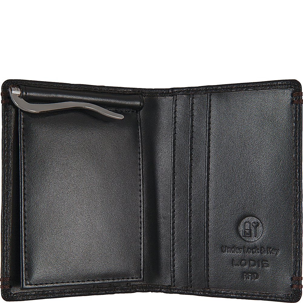 Lodis Accessories Mens Borrego RFID Harvey Money Clip Bifold The American Belt Company
