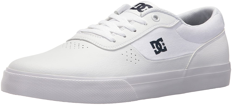 DC Men's Switch Skate Shoe White/Navy