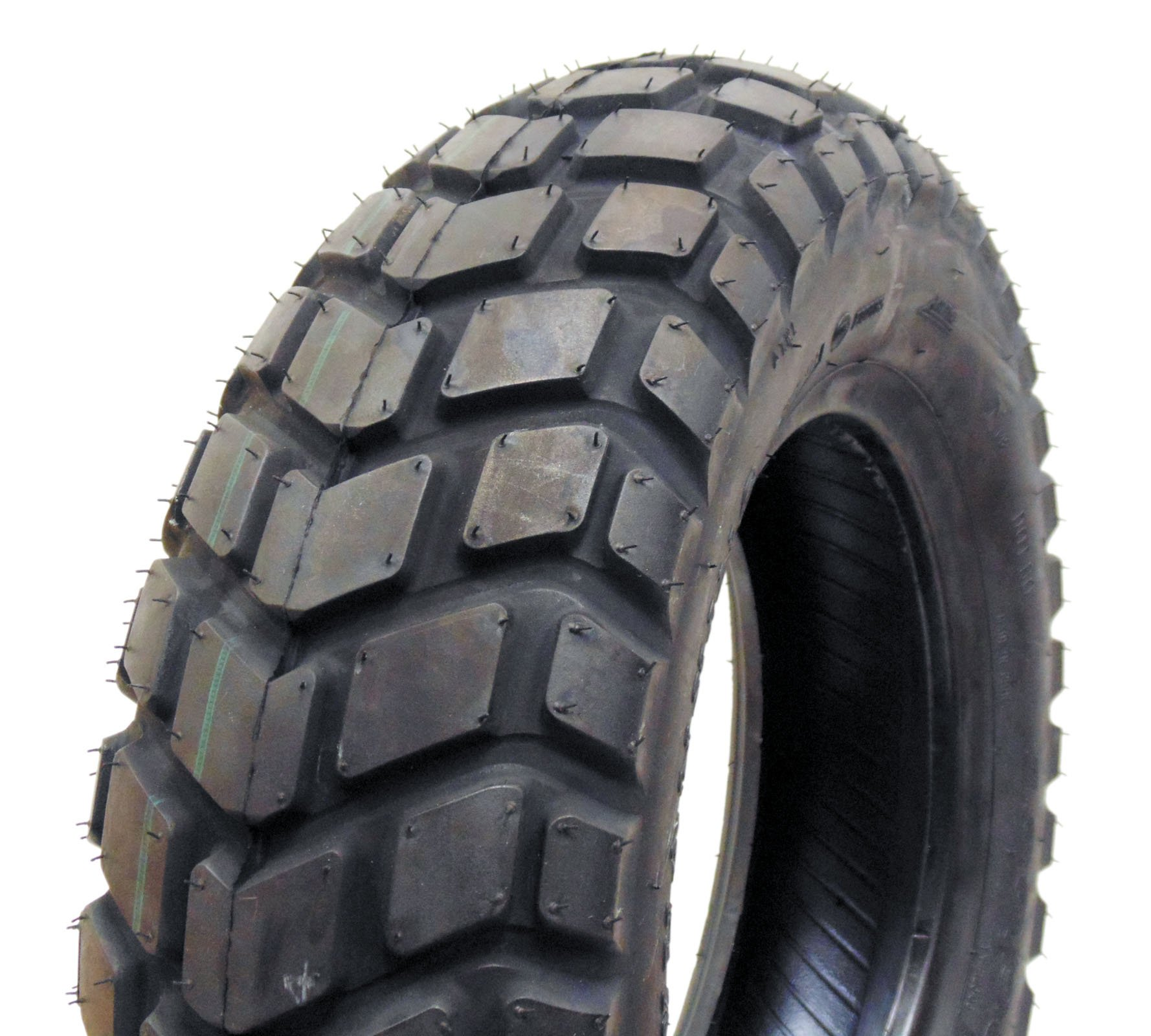 MMG Tire 130/90-10 Tubeless Front/Rear Motorcycle Scooter Moped (P126) by MMG
