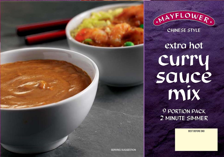 Amazoncom Mayflower Chinese Curry Sauce Extra Hot 255g