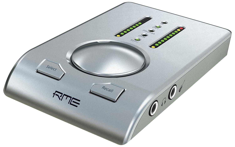 RME アールエムイー Babyface シルバー 24bit/192kHzサポート USBオーディオインターフェイス 【国内正規品】   B004GXKXGI