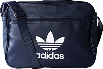 adidas Airliner Bag, College Navy Blue White, 38 x 28 x 10 cm ... 194455dfc5