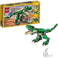 LEGO 31058 Creator Machtige speelgoeddinosaurussen, 3-in-1 model, Triceratops en pterodactylus dinosaurus figuren…