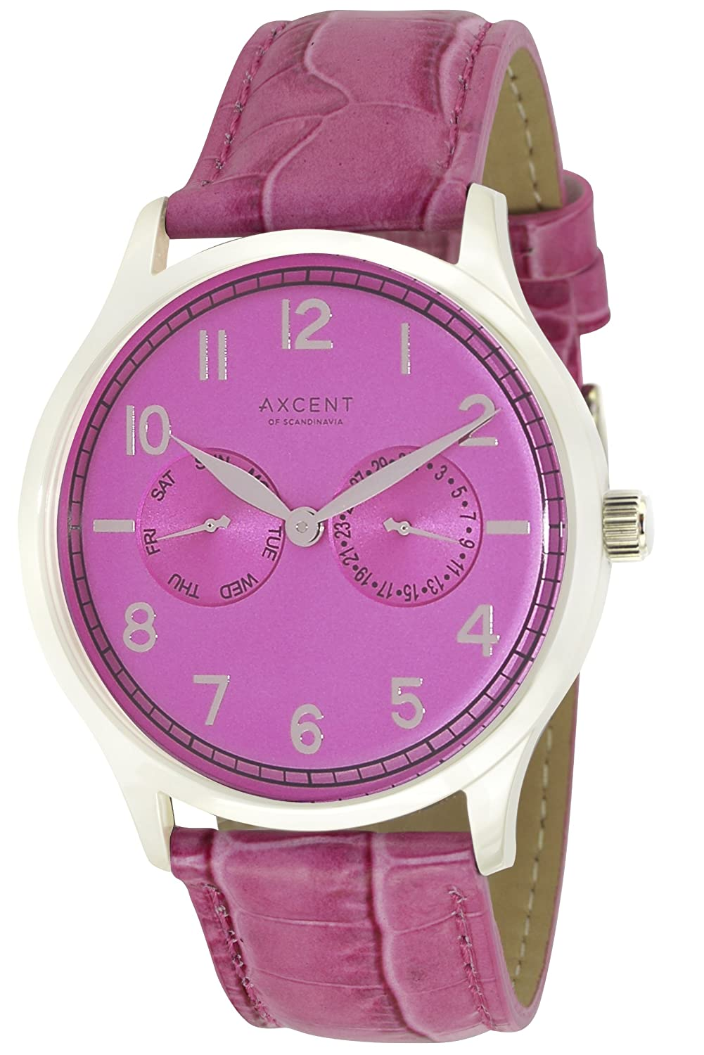 Axcent Damen-Armbanduhr Teacher Analog Quarz Leder IX13833-515