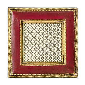 Amazoncom Cavallini Florentine Frames Classico Red 3 X 3