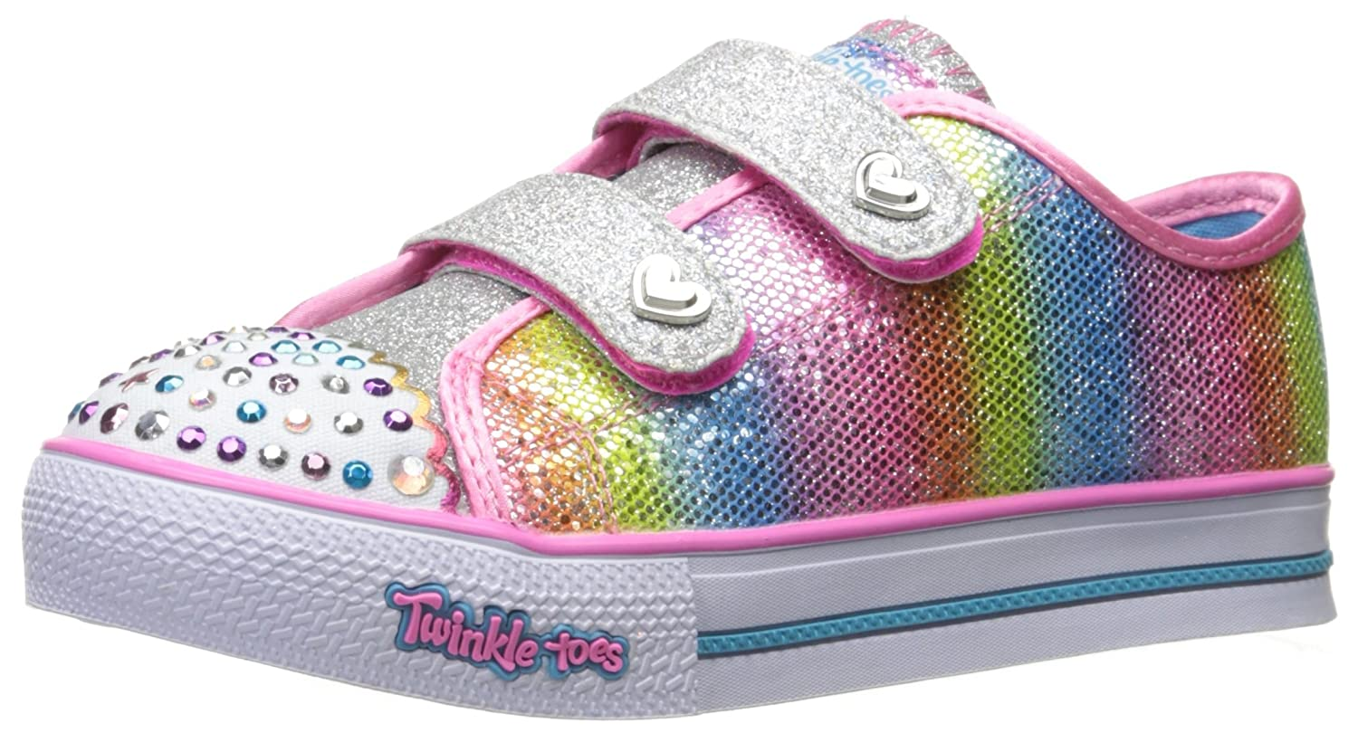 Amazon.com | Skechers Kids Kids Step up-Sparkle Kicks Sneaker | Sneakers