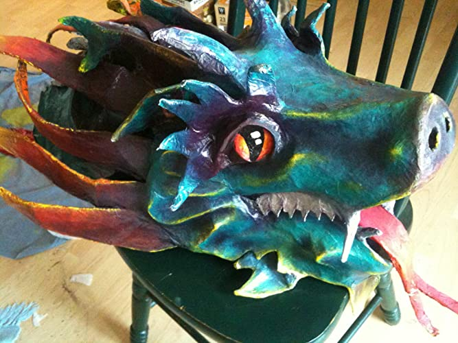 amazon com chinese new year parade dragon head trophy mount faux