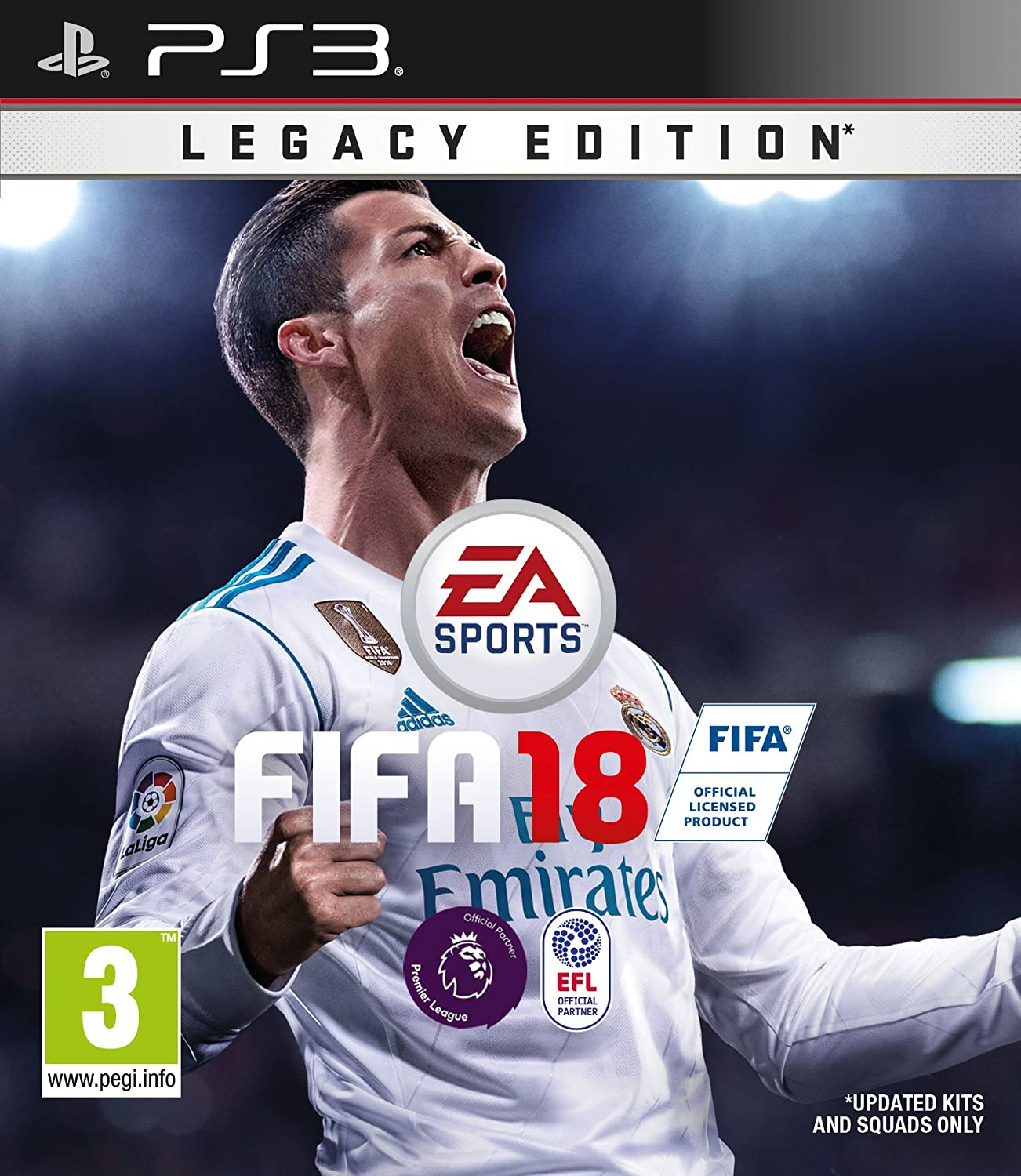 FIFA 18 Legacy Edition (PS3) [Importación inglesa]: Amazon.es ...
