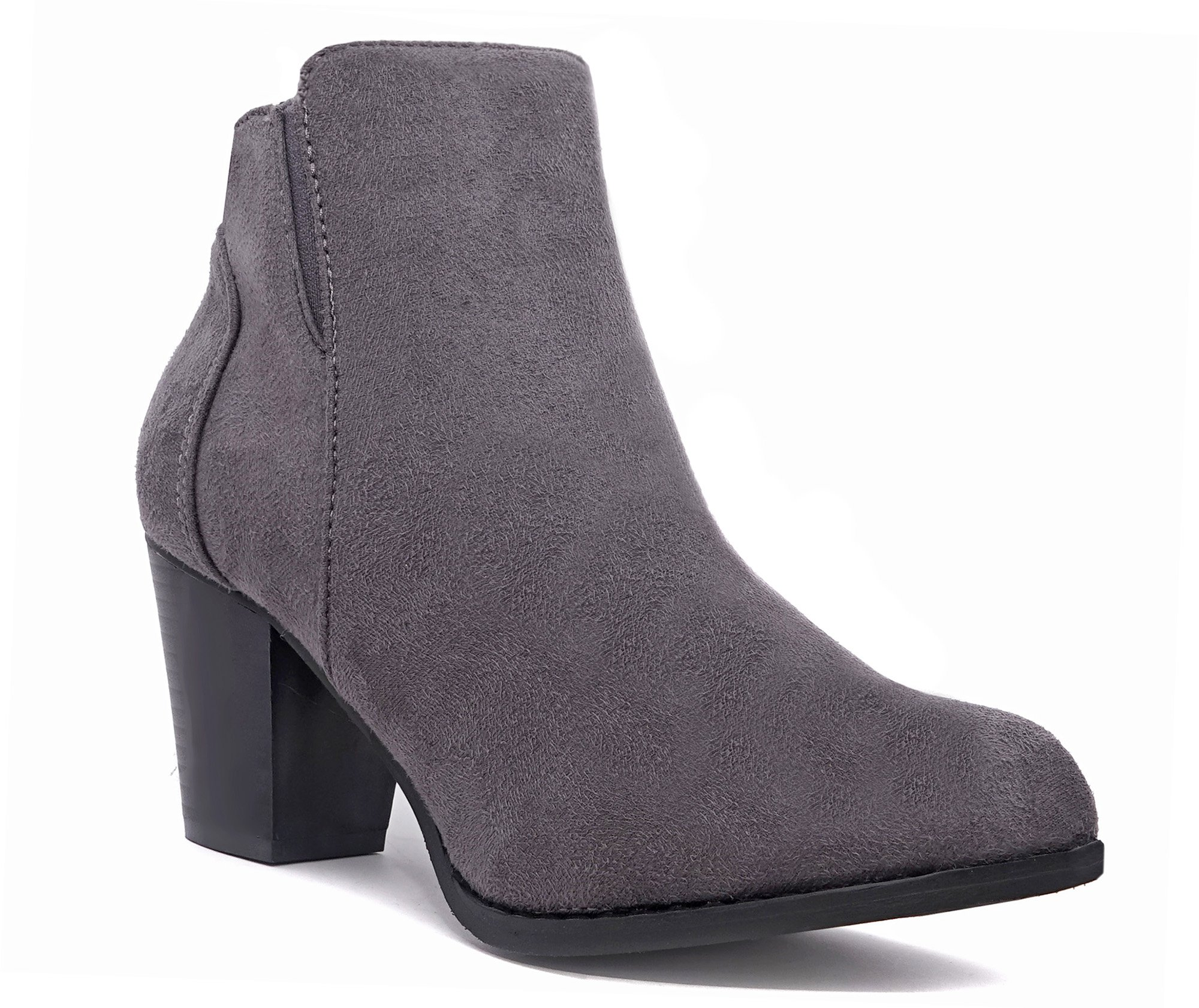 c9338541c Crocs Women s Berryessa Tall Suede Boot - AB Ankle Boot US Store