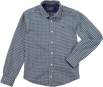 Hackett - Winter Gingham Y - Camisa Cuadros NIÑO: Amazon.es: Ropa