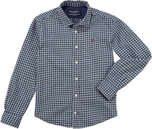 Hackett - Winter Gingham Y - Camisa Cuadros NIÑO: Amazon.es: Ropa y accesorios