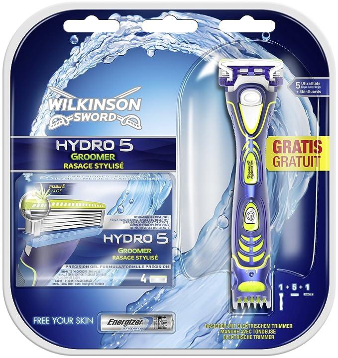 Wilkinson Sword Hydro 5 Groomer - Paquete Convenience con 5 hojas de  afeitar  Amazon.es  Salud y cuidado personal 27b8c3b29930