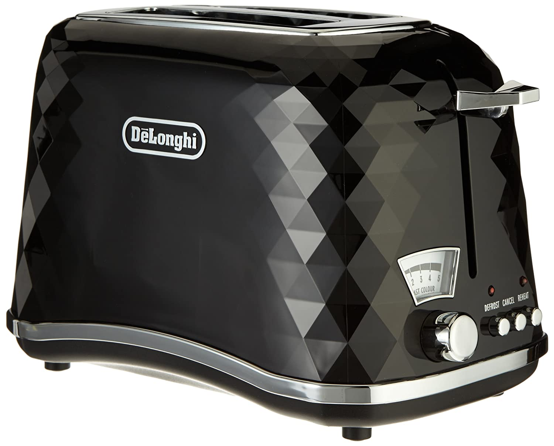Buy Delonghi Icona Brillante CTJ2003 900 Watt 2 Slice Toaster Black Online At Low Prices In India