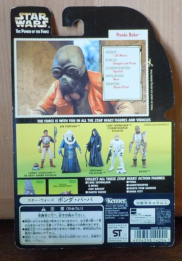 Ponda Baba mit Blaster Pistole und Gewehr Star Wars Action Figur 69708