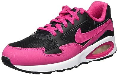 NIKE Air Max St GS, Sneakers Basses Fille, Noir (Black/Vivid Pink