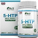 5-HTP 200 mg | Doppia Forza 180 Compresse Fornitura Per 6 Mesi | GARANZIA SODDISFATTI O RIMBORSATI AL 100% | 5-HTP 100% Naturale | Estratto dalla Griffonia