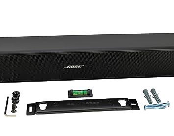 bose 5 soundbar. wall mount kit for bose solo 5, cinemate 120 or soundtouch sound bars, 5 soundbar