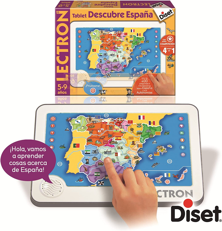 Amazon.es: Diset Lectron - Lectrón Tablet descubre España 63887