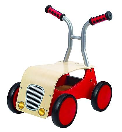 Amazon.com: Vehículo infantil Hape, de madera ...
