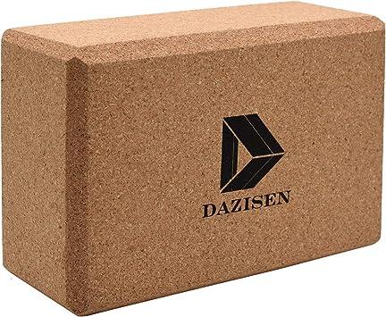 Amazon.com : DAZISEN Yoga Block - Starter Kit Cork Yoga Non ...