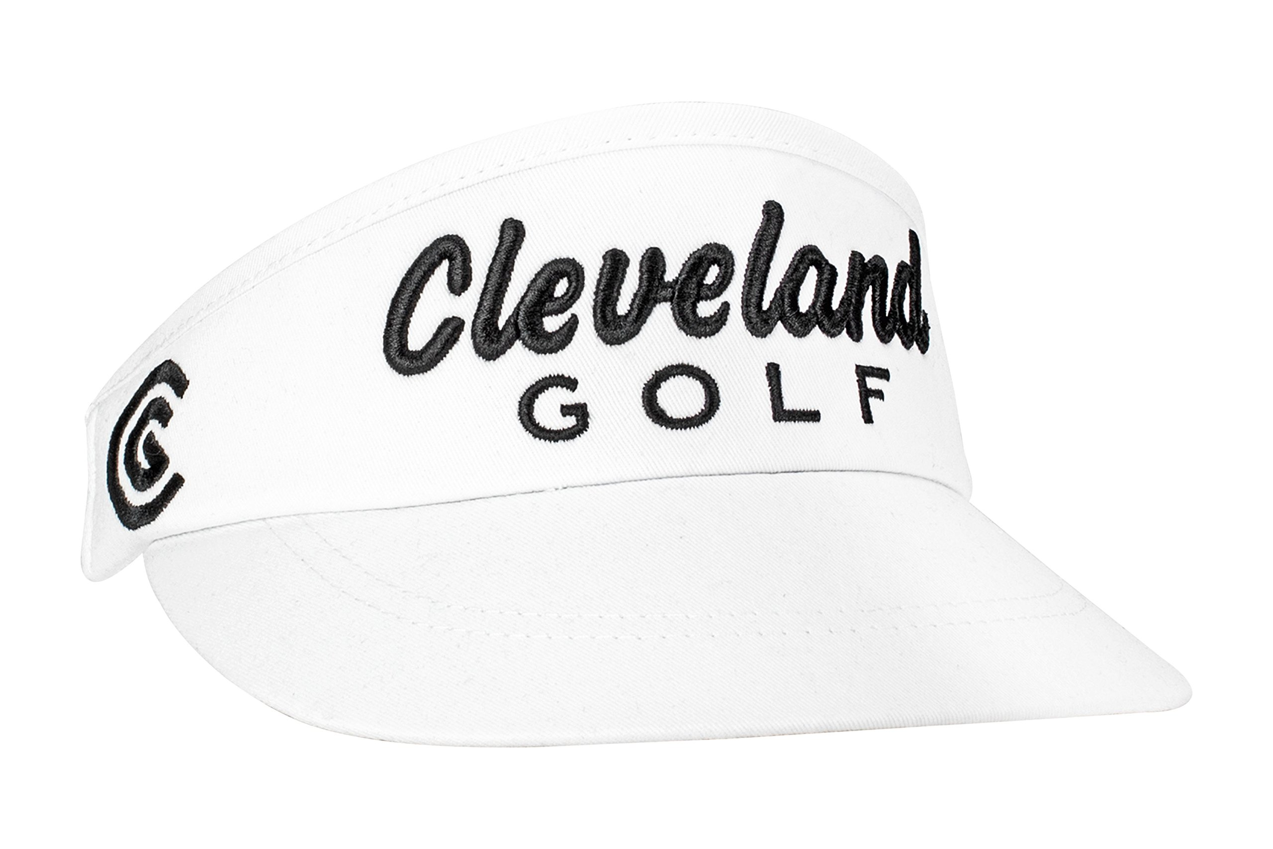 Cleveland Golf Mens Performance Visor, White, One Size Fits All
