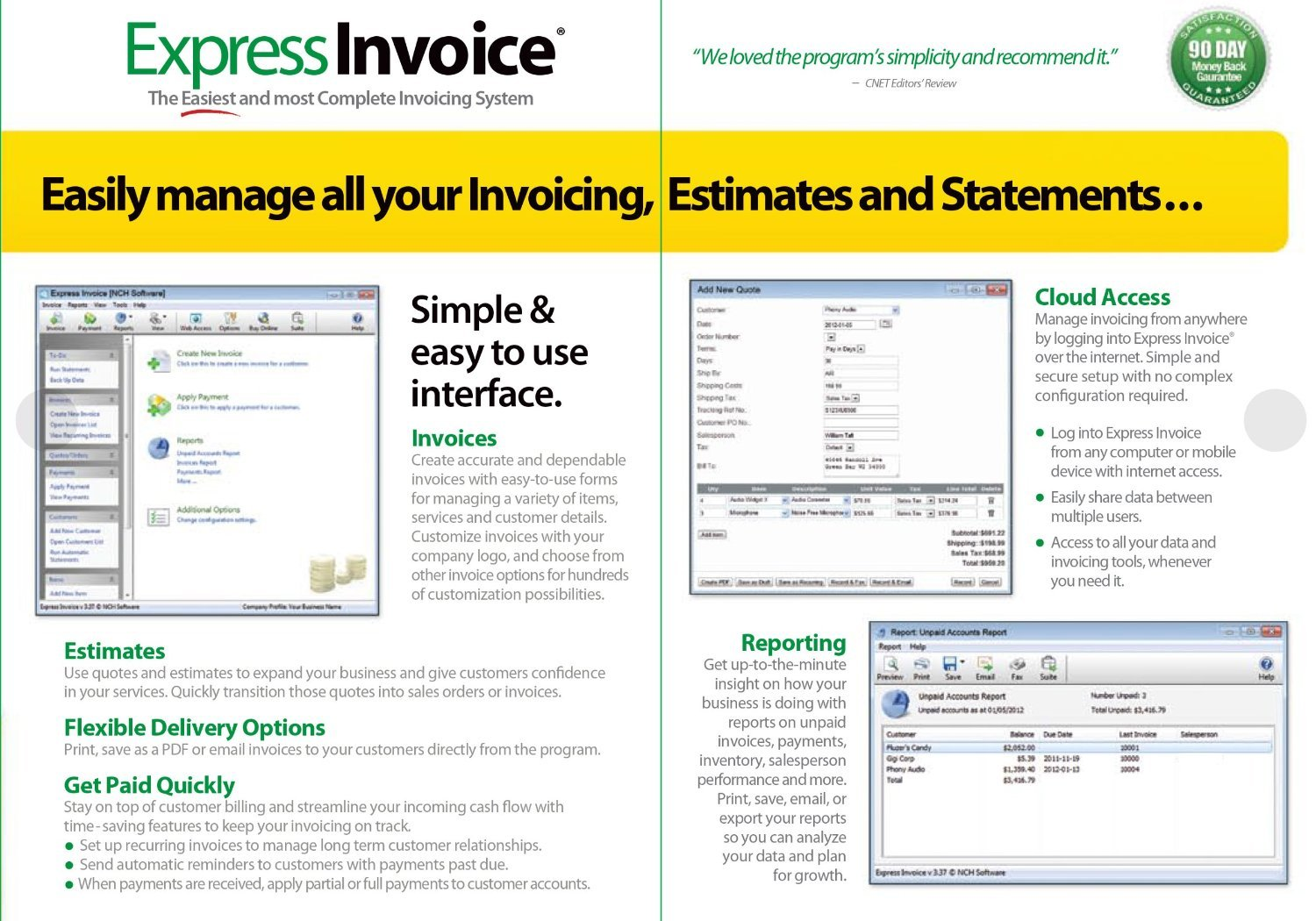 Amazoncom Express Invoice Professional Invoicing Software PC - Invoice simple review