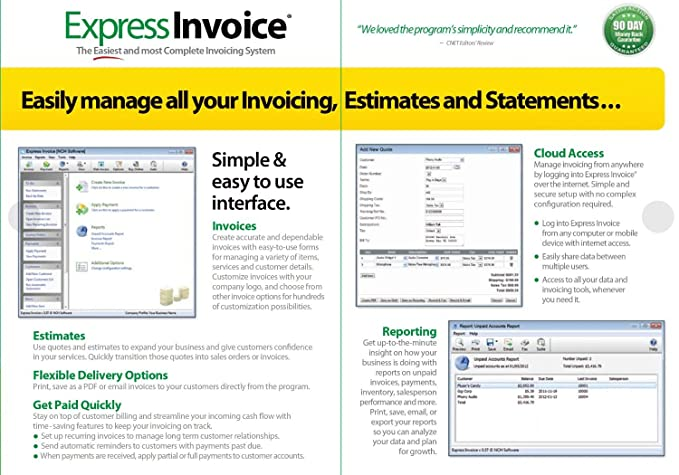 amazoncom express invoice professional invoicing software pc