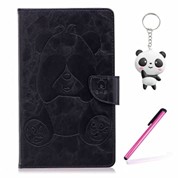 Funda Amazon Kindle Paperwhite 1 2 3 Negro Panda tímido PU ...