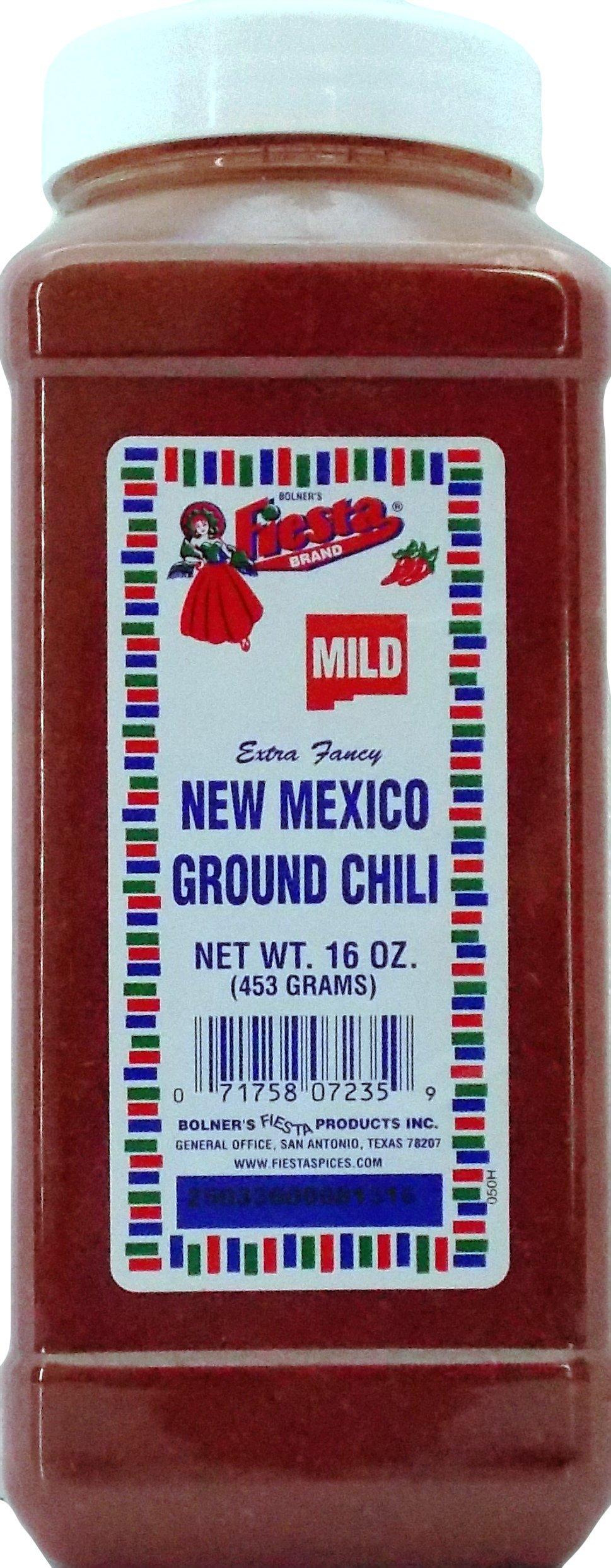 Bolner's Fiesta Extra Fancy Mild New Mexico Ground Chili, 16 Oz.