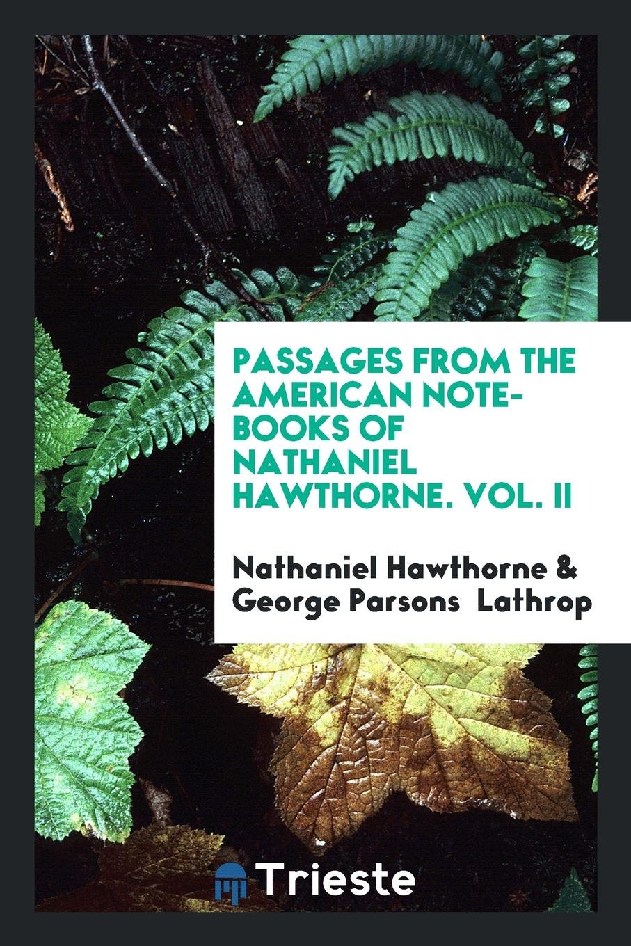 Passages from the American Note-Books of Nathaniel Hawthorne Paperback –  Import, 17 May 2018