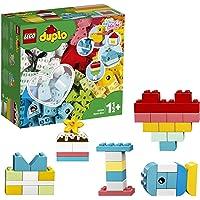 LEGO 10909 Classic Hartvormige Doos Bouwset, Eenvoudige Set voor Beginners, Educatief Speelgoed voor Peuters van 1.5…