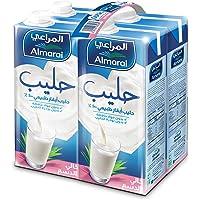 Almarai Fat Free UHT Milk, 4 Pack x 1 Litre